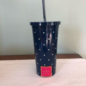Kate Spade Larabee Dot insulated tumbler-new